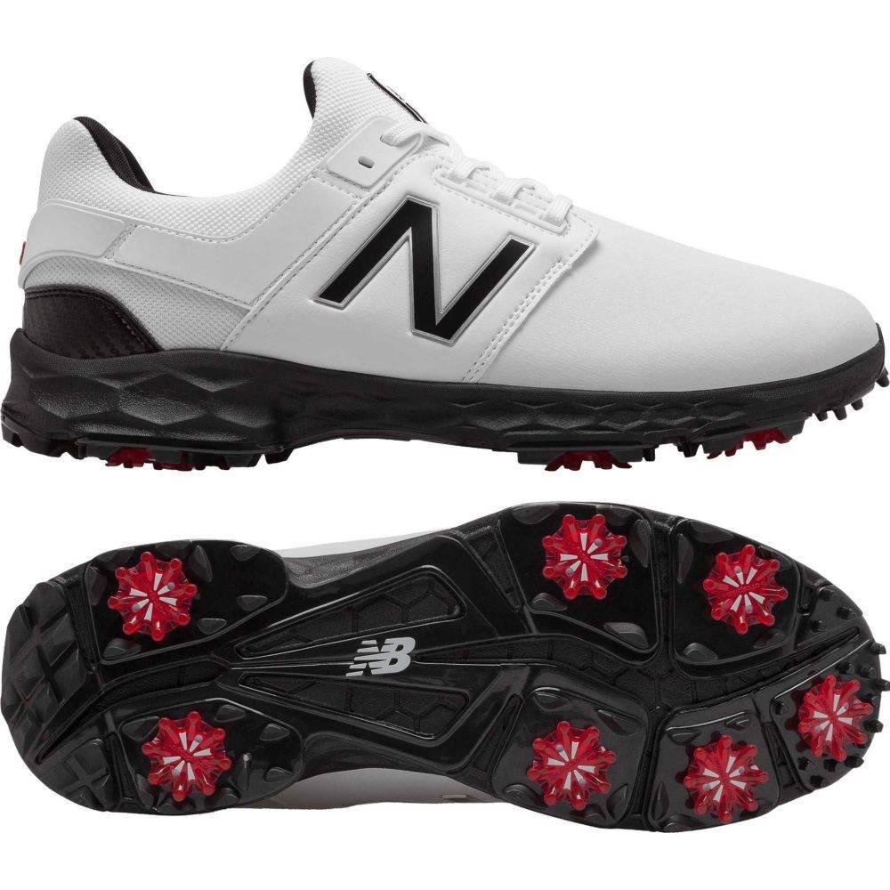 ニューバランス New Balance メンズ ゴルフ シューズ・靴【Fresh Foam LinksPro Golf Shoes】白い/黒
