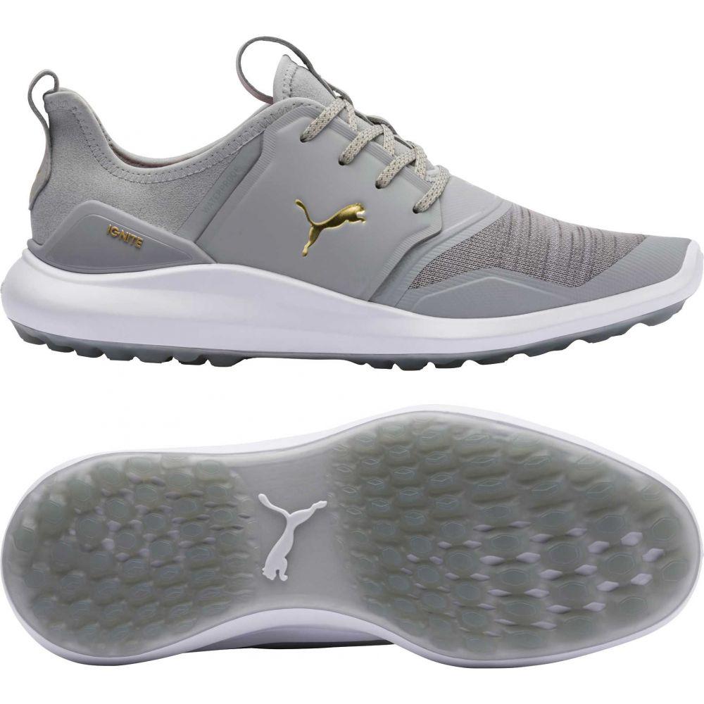 プーマ PUMA メンズ ゴルフ シューズ・靴【IGNITE NXT Golf Shoes】Light Grey/White