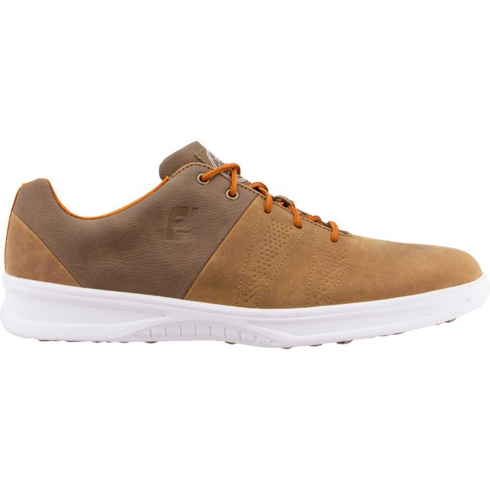 フットジョイ FootJoy メンズ ゴルフ シューズ・靴【Contour Casual Golf Shoes】Brown