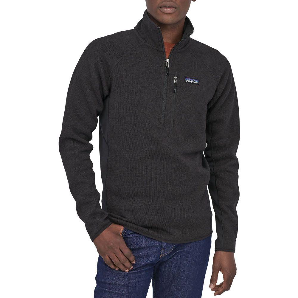 パタゴニア Patagonia メンズ フリース トップス【Performance Better Sweater 1/4 Zip Pullover】Black