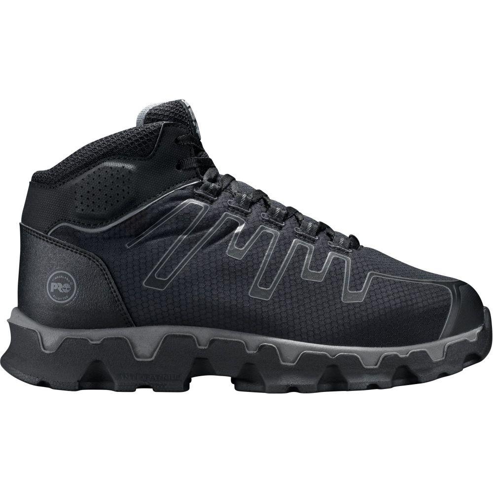 ティンバーランド Timberland メンズ ブーツ ワークブーツ シューズ・靴【PRO Powertrain Mid Alloy Toe EH Work Boots】Black