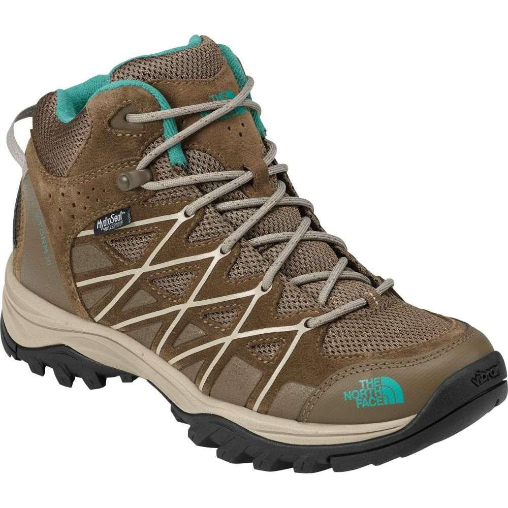 ザ ノースフェイス The North Face レディース ハイキング・登山 ブーツ シューズ・靴【Storm III Mid Waterproof Hiking Boots】Cub Brown/Crockery Beige