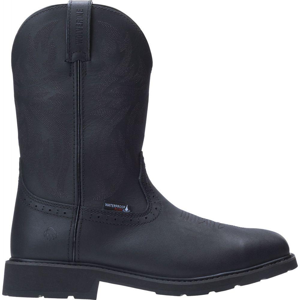 ウルヴァリン Wolverine メンズ ブーツ ウェリントンブーツ ワークブーツ シューズ・靴【Rancher Wellington Waterproof Steel Toe Work Boots】Black