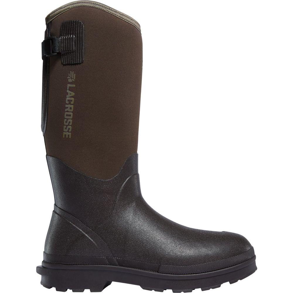 ラクロッセ LaCrosse メンズ ブーツ ワークブーツ シューズ・靴【Alpha Range 14'' 5.0mm Rubber Work Boots】Brown