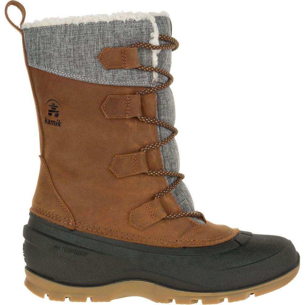 カミック Kamik レディース ブーツ ウインターブーツ シューズ・靴【Snowgem 200g Waterproof Winter Boots】Cognac
