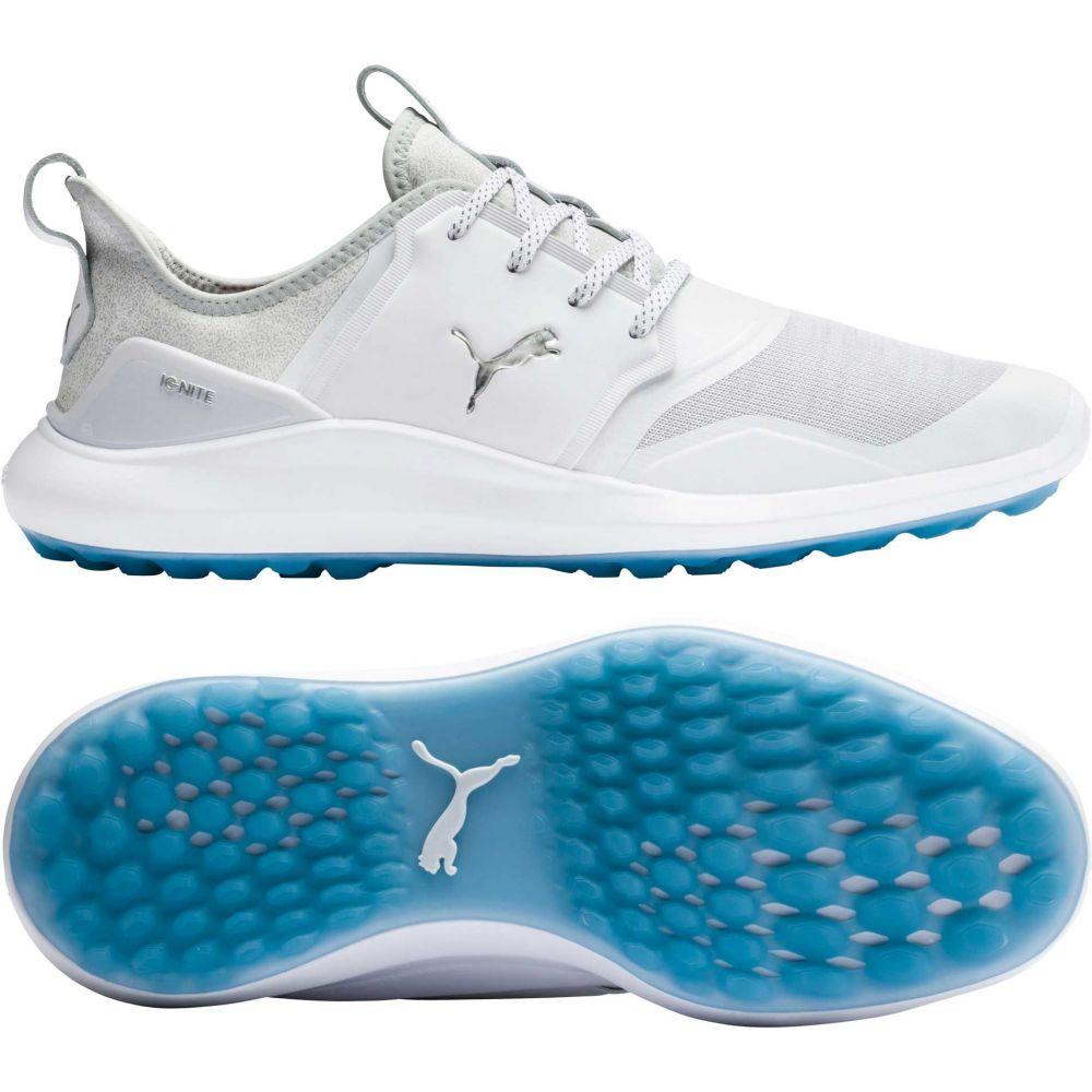 プーマ PUMA メンズ ゴルフ シューズ・靴【IGNITE NXT Golf Shoes】White/Blue