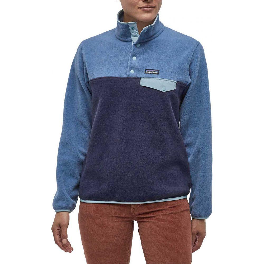パタゴニア Patagonia レディース フリース トップス【Synchilla Snap-T Fleece Pullover】Neo Navy/Woolly Blue