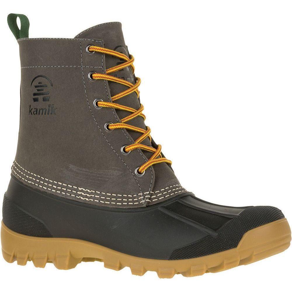 カミック Kamik メンズ ブーツ ウインターブーツ シューズ・靴【Yukon6 200g Waterproof Winter Boots】Charcoal