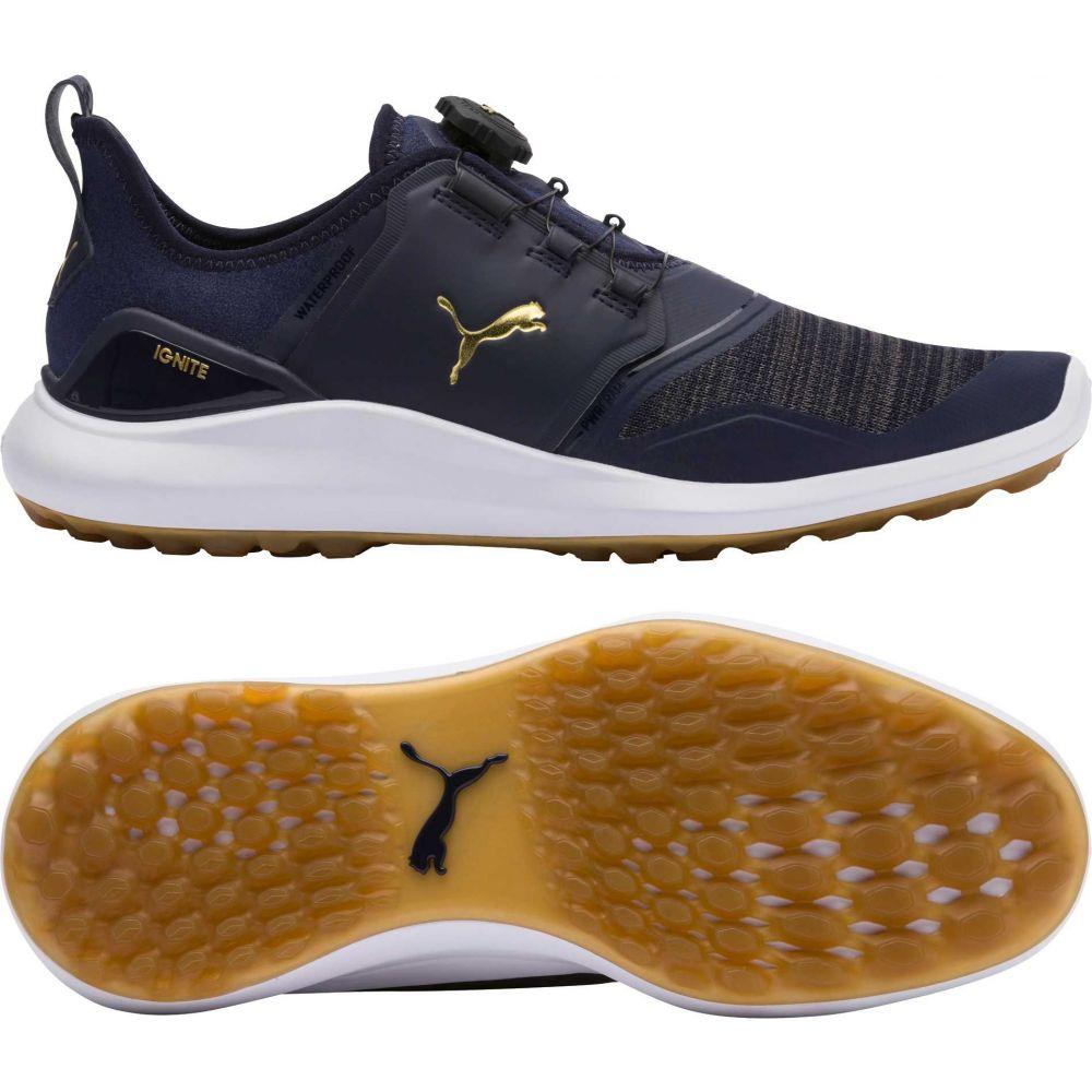 プーマ PUMA メンズ ゴルフ シューズ・靴【IGNITE NXT DISC Golf Shoes】Navy/White
