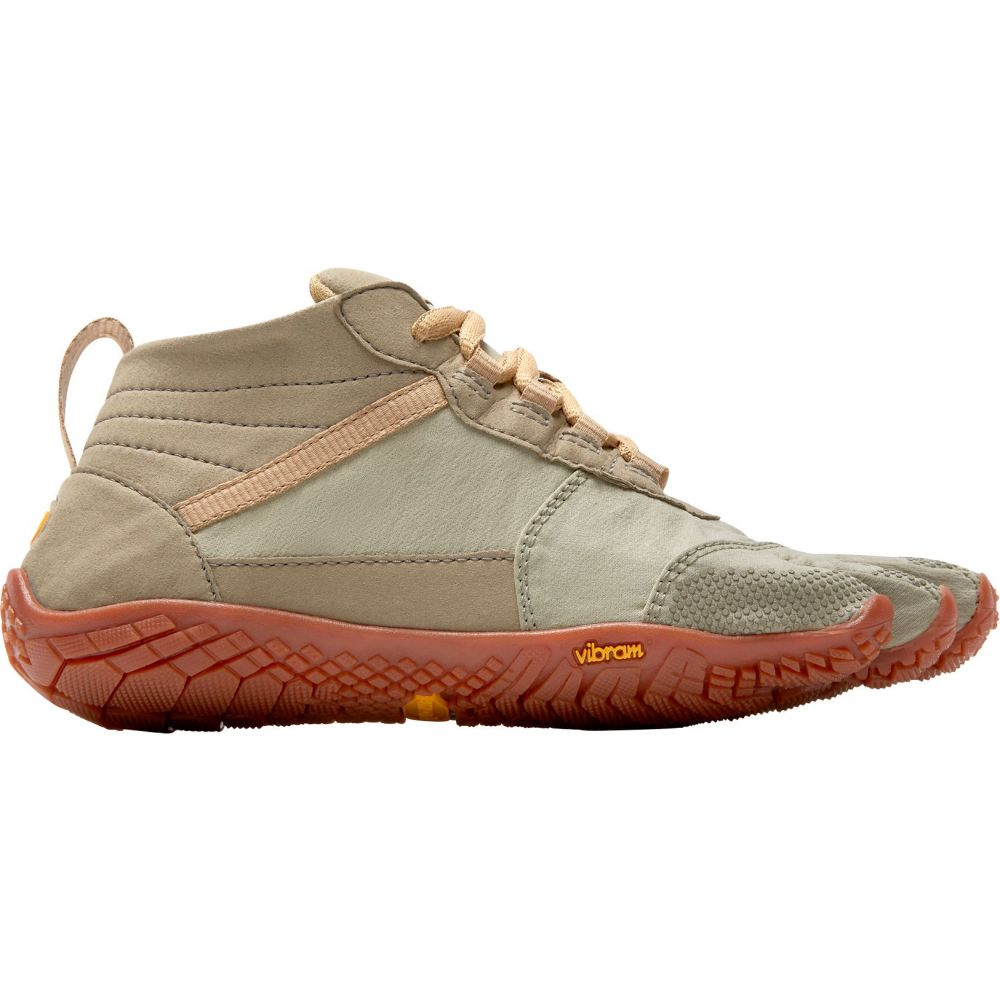 ビブラム Vibram レディース ハイキング・登山 シューズ・靴【V-Trek Hiking Shoes】Khaki