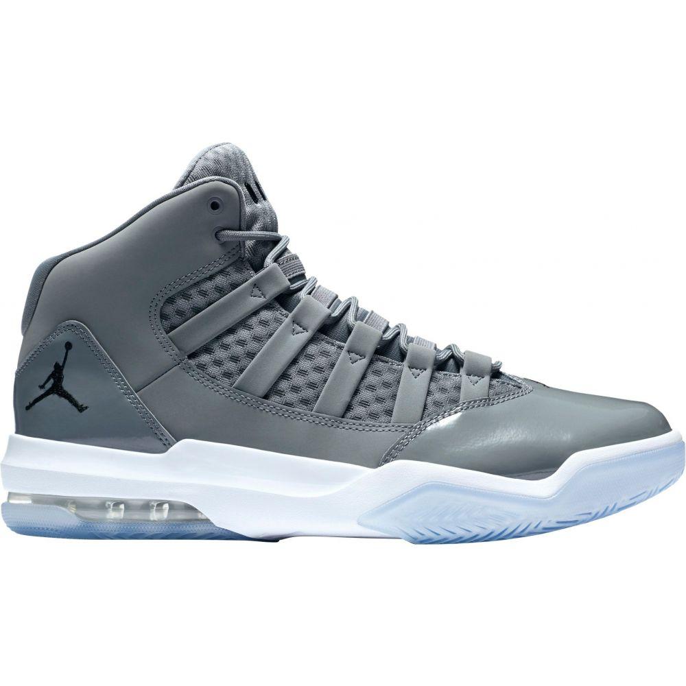 ナイキ ジョーダン Jordan メンズ バスケットボール シューズ・靴【Max Aura Shoes】Grey/Black