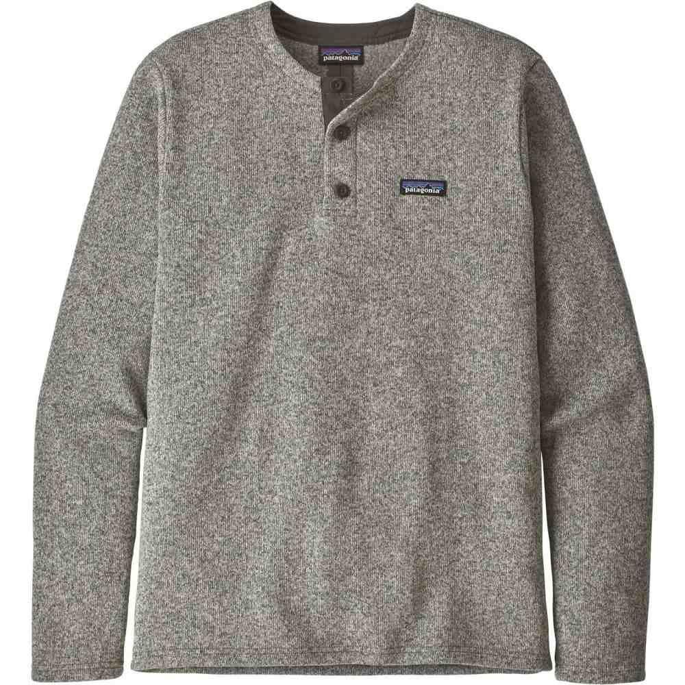 パタゴニア Patagonia メンズ フリース ヘンリーシャツ トップス【Better Sweater Henley Pullover】Stonewash