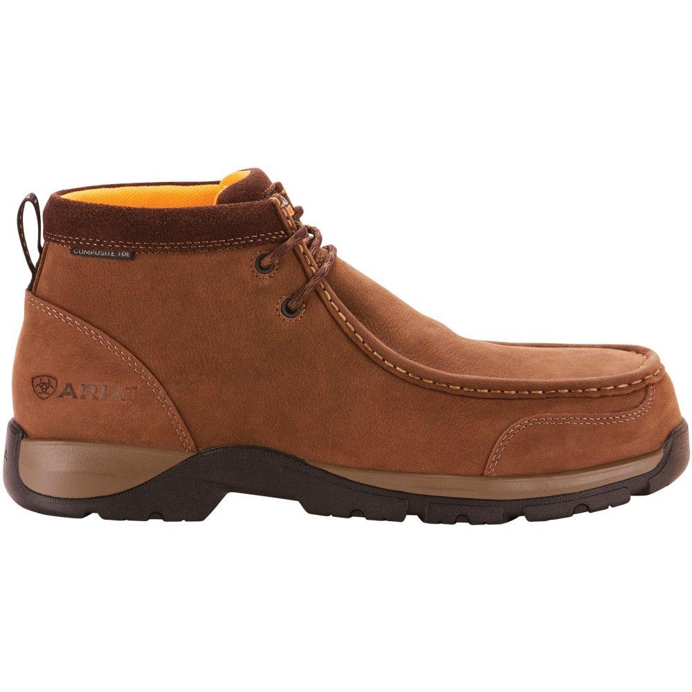 アリアト Ariat メンズ ブーツ ワークブーツ シューズ・靴【Edge LTE Moc Composite Toe Work Boots】Dark Brown