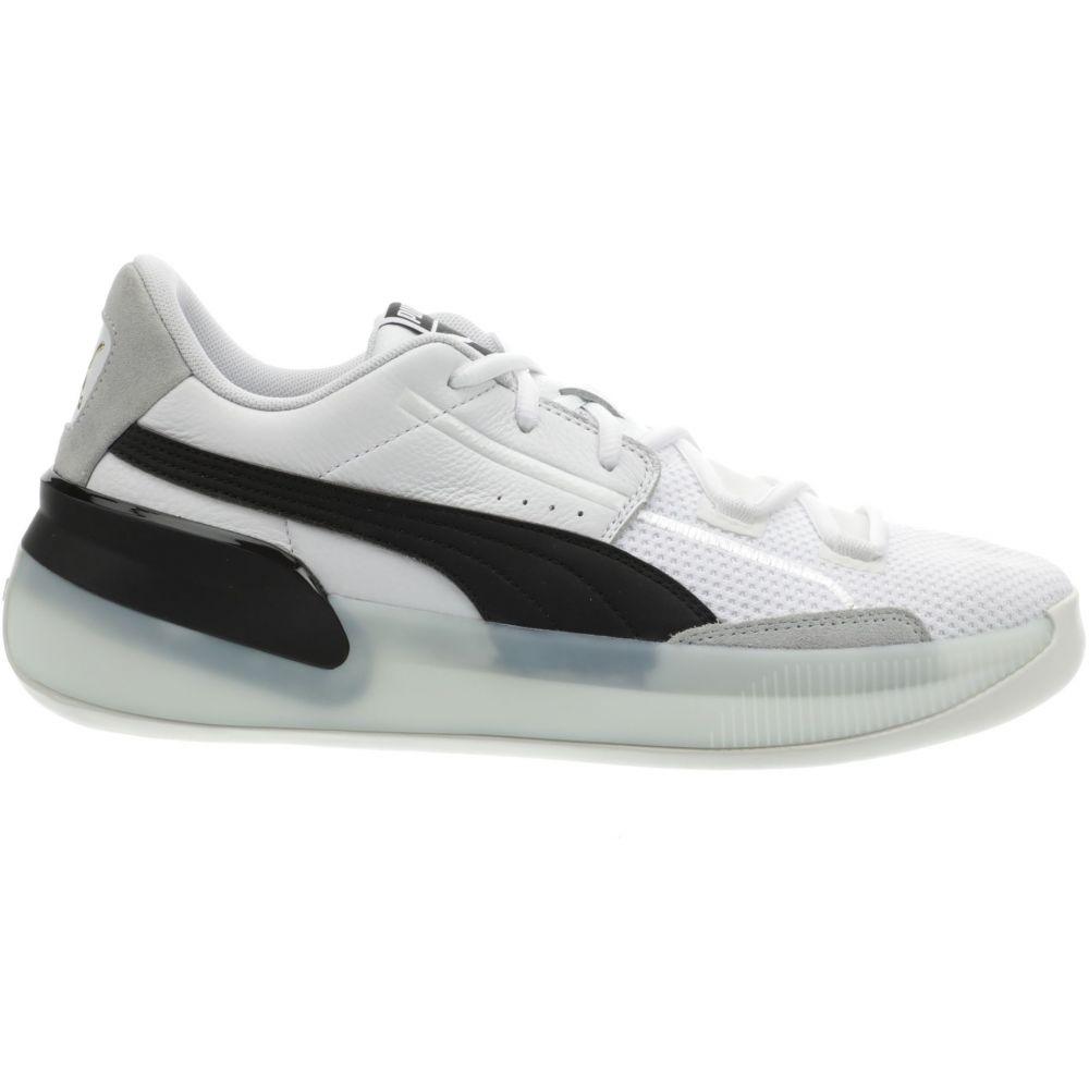 プーマ PUMA メンズ バスケットボール シューズ・靴【Clyde Hardwood Basketball Shoes】White/Black