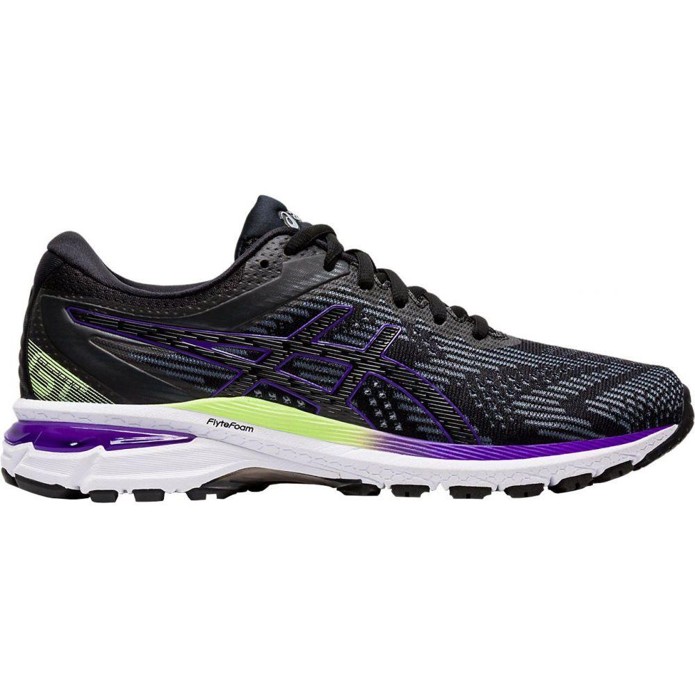 アシックス ASICS レディース ランニング・ウォーキング シューズ・靴【GT-2000 8 Running Shoes】Black/Purple/Green