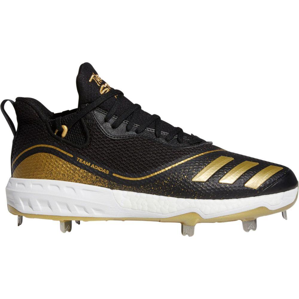 アディダス adidas メンズ 野球 スパイク シューズ・靴【Icon V Baseball Cleats】Black/Gold Metallic