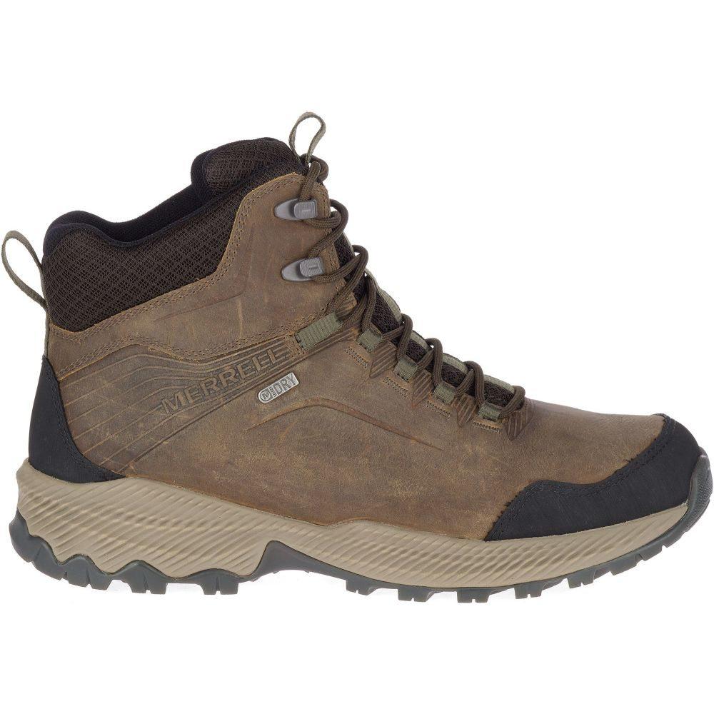 メレル Merrell メンズ ハイキング・登山 ブーツ シューズ・靴【Forestbound Mid Waterproof Hiking Boots】Cloudy