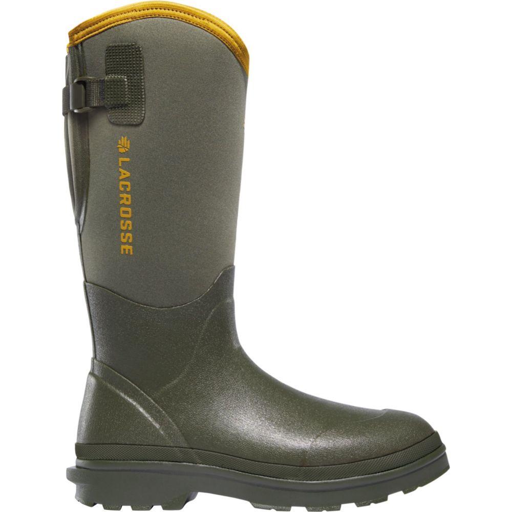 ラクロッセ LaCrosse メンズ ブーツ シューズ・靴【Alpha Range Air Circ Rubber Hunting Boots】Green