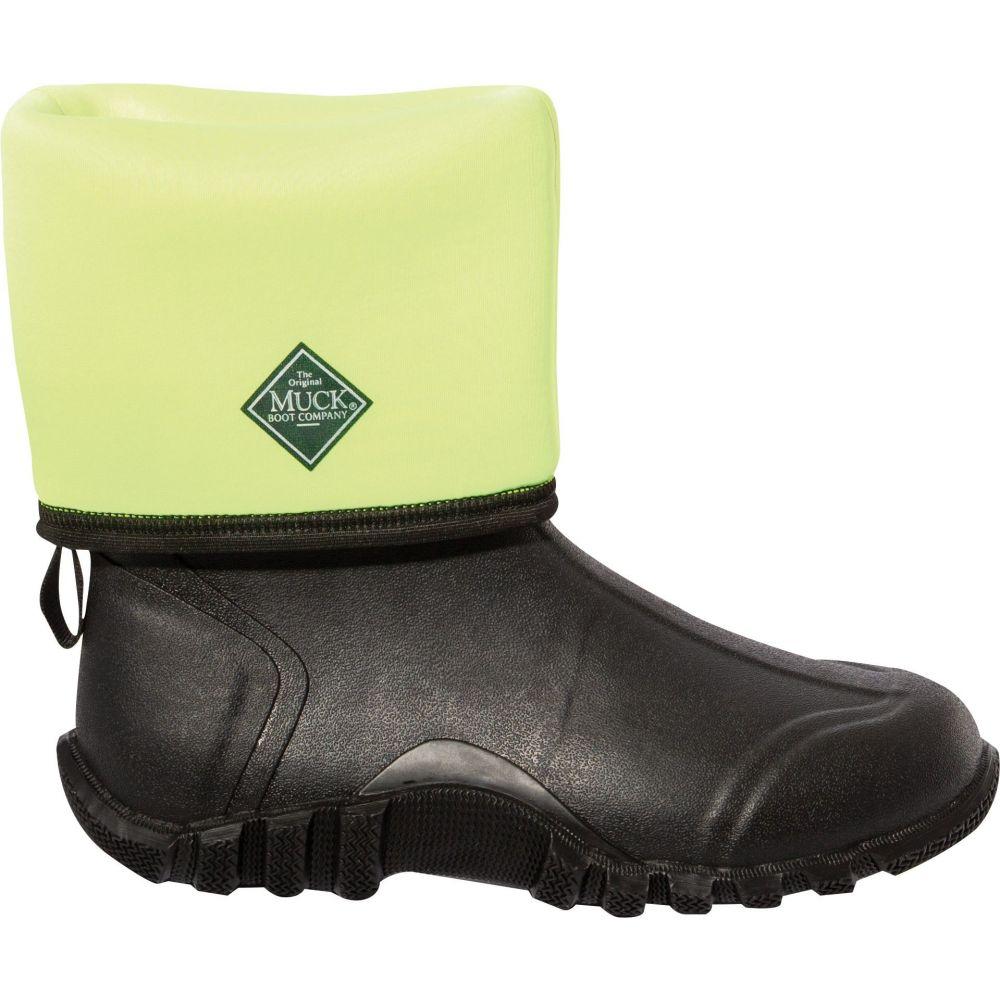マックブーツ Muck Boots メンズ ブーツ ワークブーツ シューズ・靴【Edgewater Classic Reflect Rubber Work Boots】Black/Silver Reflective