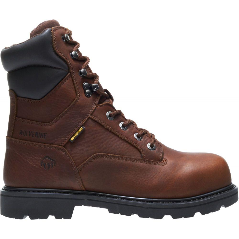 ウルヴァリン Wolverine メンズ ブーツ ワークブーツ シューズ・靴【Farmhand 8'' Waterproof Work Boots】Rust