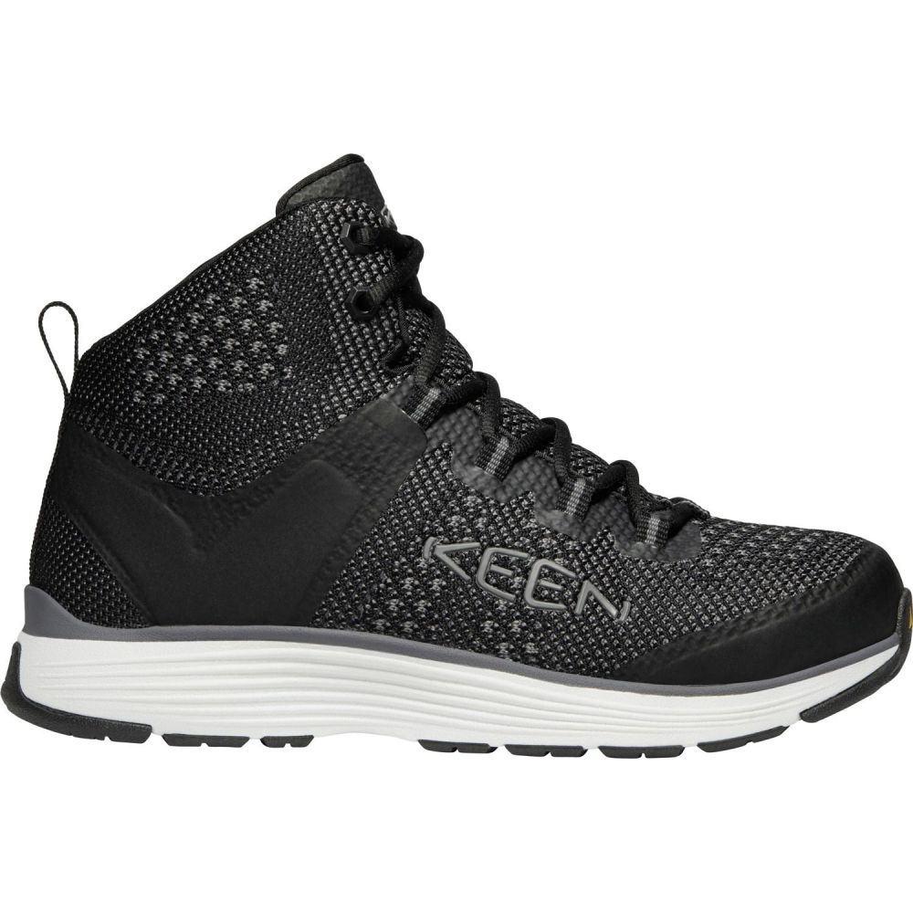 キーン Keen メンズ シューズ・靴 【KEEN Carson Mid Aluminum Toe Work Shoes】Black/Steel Grey