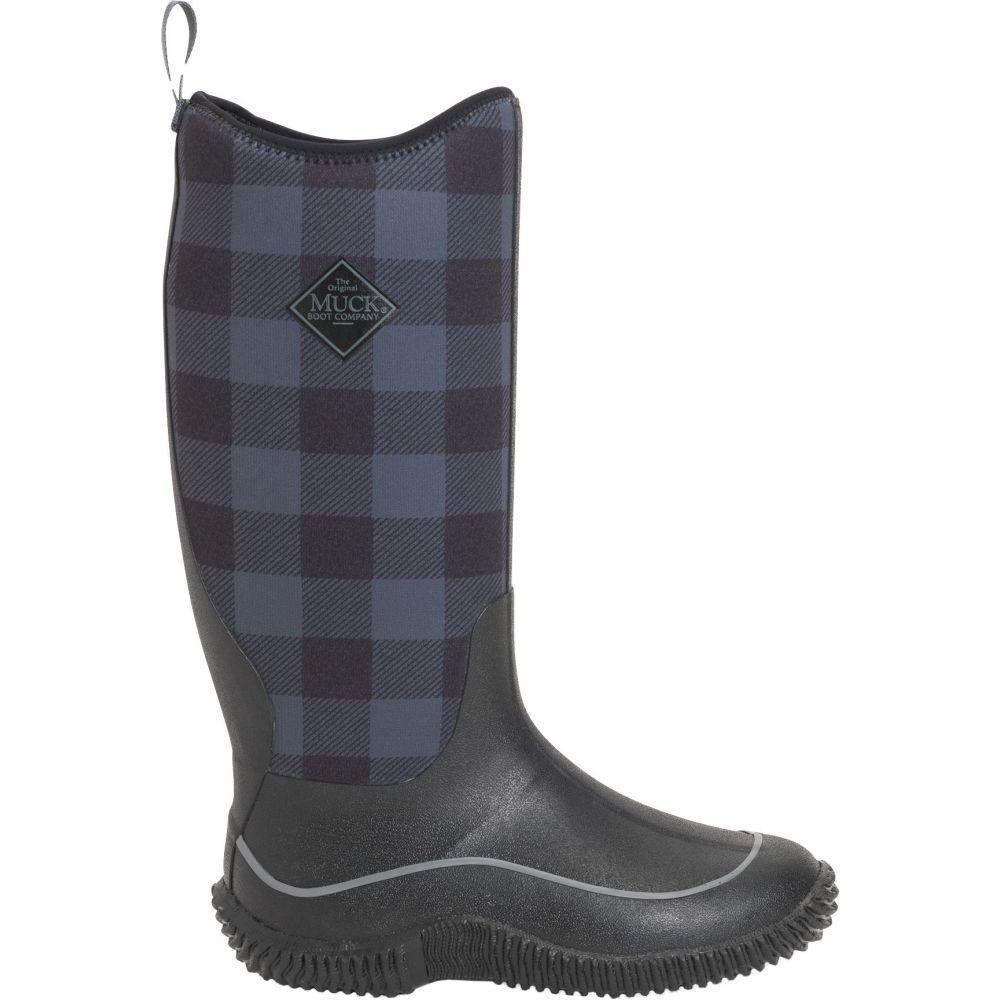 マックブーツ Muck Boots レディース ブーツ ウインターブーツ シューズ・靴【Hale Waterproof Winter Boots】Black/Grey Plaid