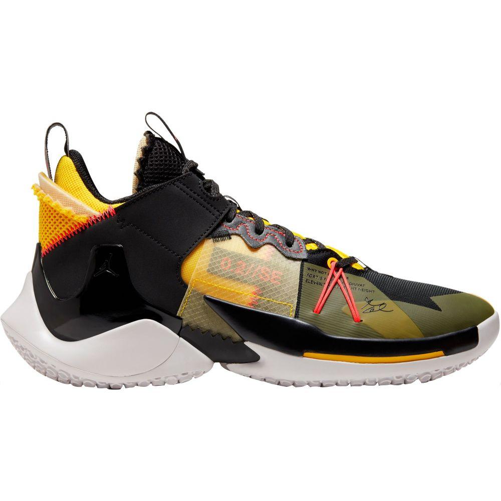 ナイキ Nike メンズ バスケットボール シューズ・靴【Jordan Why Not Zer0.2 Basketball Shoes】Flash Crimson/Blk/Crimson