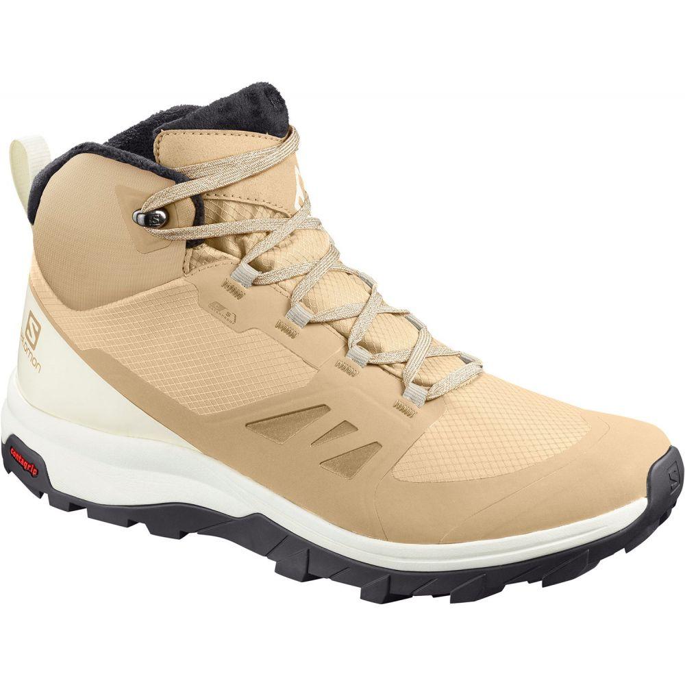サロモン Salomon レディース ハイキング・登山 ブーツ シューズ・靴【OUTSnap Waterproof Hiking Boots】Taupe