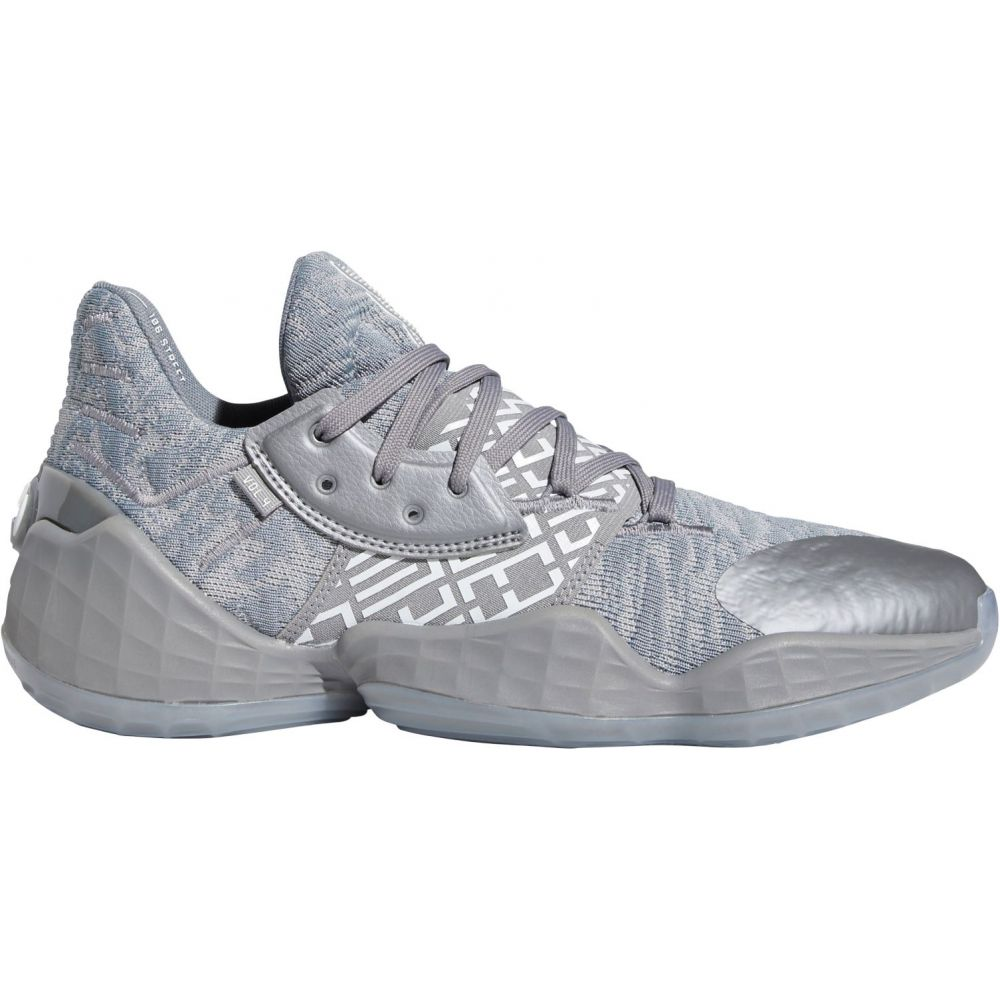 アディダス adidas メンズ バスケットボール シューズ・靴【Harden Vol. 4 Basketball Shoes】Grey