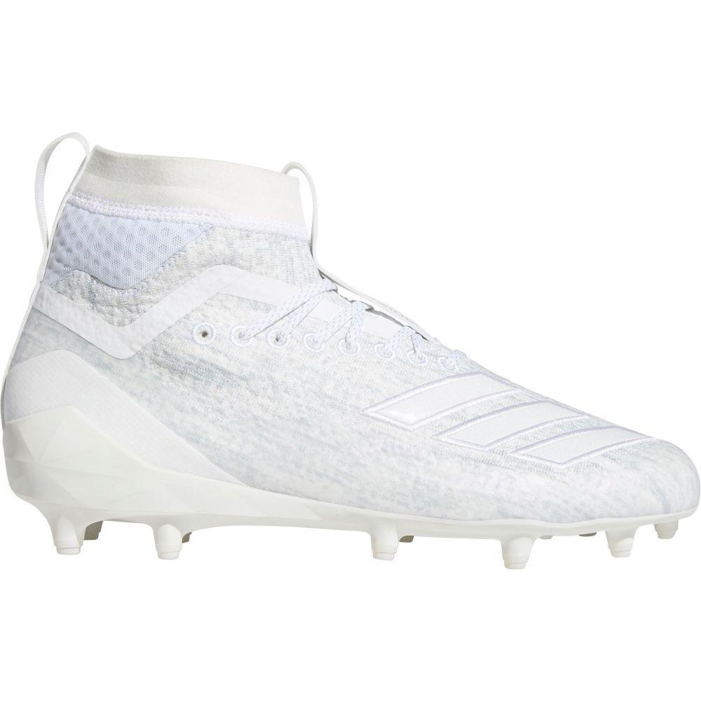 アディダス adidas メンズ ラクロス スパイク シューズ・靴【adizero 8.0 SK Lacrosse Cleats】White/White