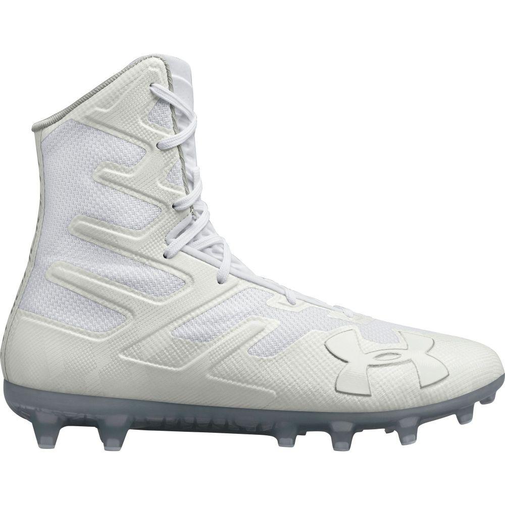 アンダーアーマー Under Armour メンズ ラクロス スパイク シューズ・靴【Highlight MC Lacrosse Cleats】White/White