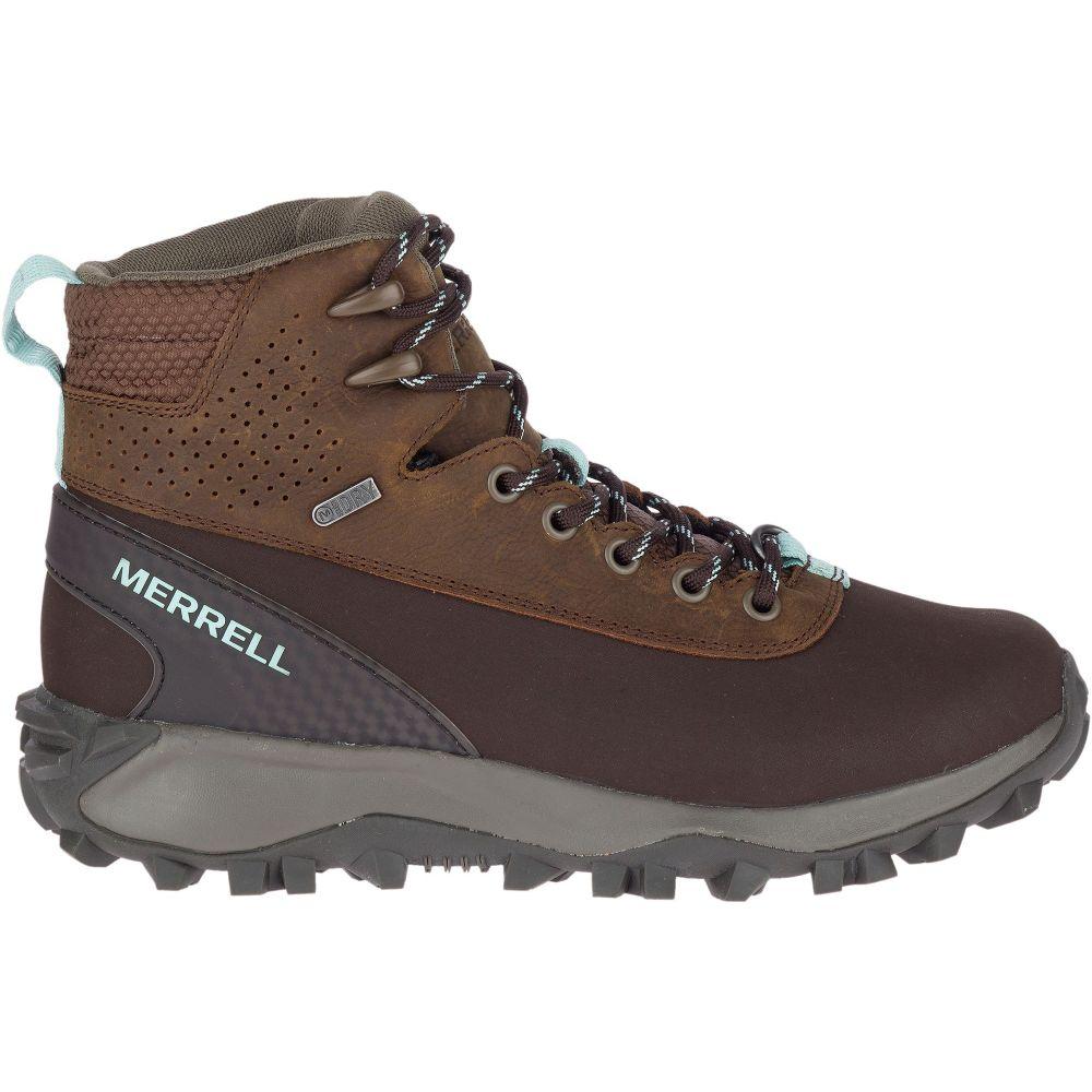 メレル Merrell レディース ハイキング・登山 ブーツ シューズ・靴【Thermo Kiruna Mid Shell 200g Waterproof Hiking Boots】Earth