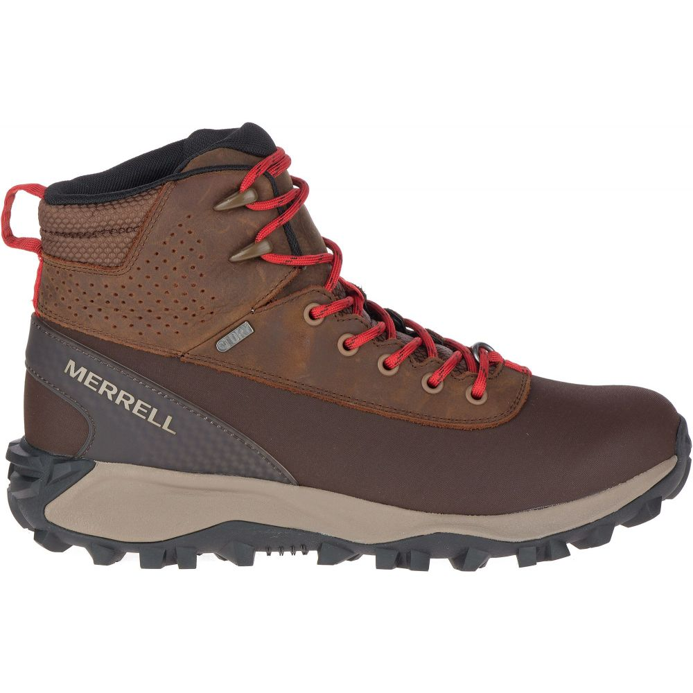 メレル Merrell メンズ ハイキング・登山 ブーツ シューズ・靴【Thermo Kiruna Mid Shell 200g Waterproof Hiking Boots】Earth