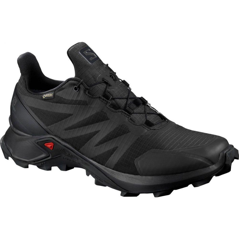 サロモン Salomon レディース ランニング・ウォーキング シューズ・靴【Supercross GTX W Trail Running Shoes】Black/Black