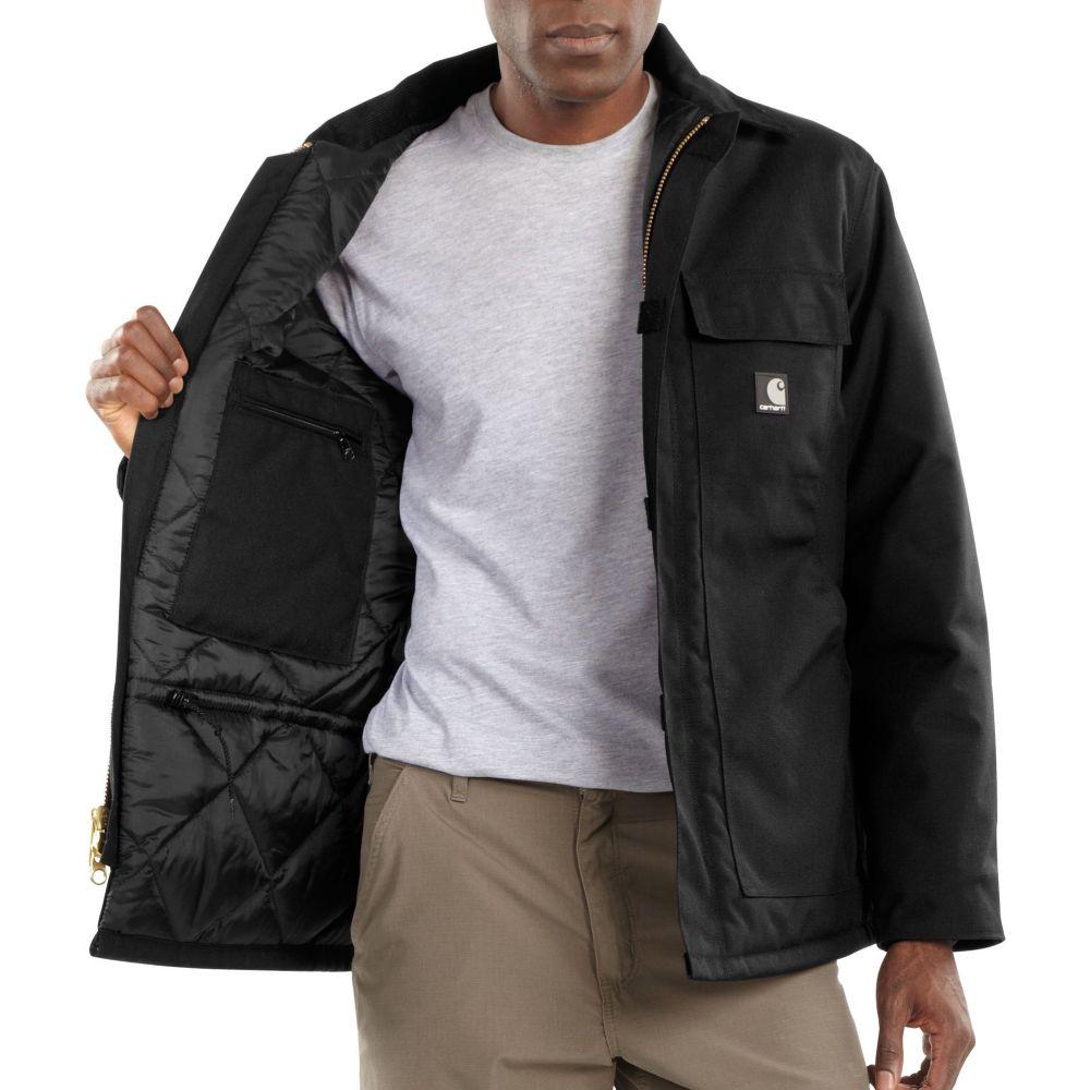 カーハート Carhartt メンズ ジャケット アウター【Extremes Artic Quilt Lined Yukon Jacket】Black