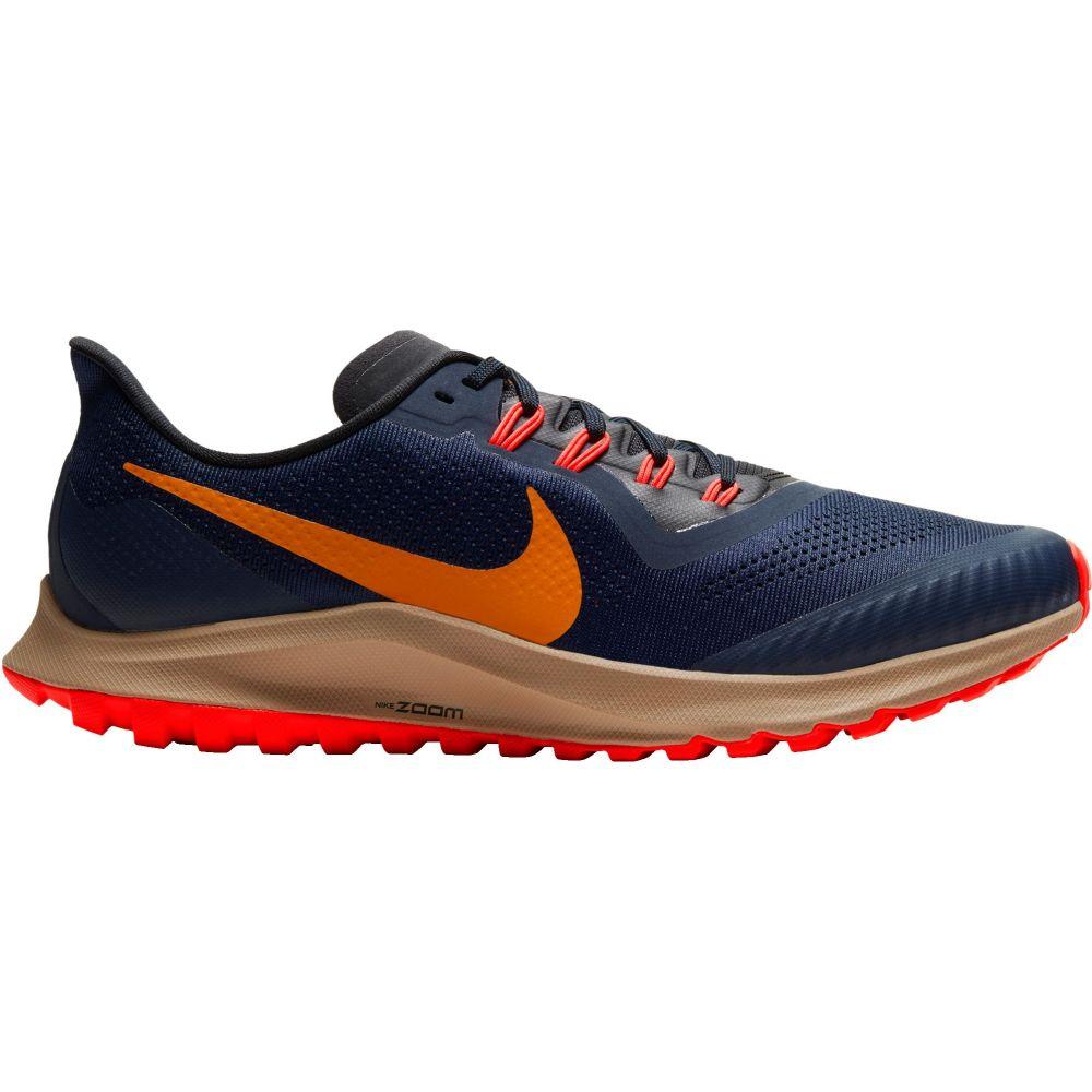 ナイキ Nike メンズ ランニング・ウォーキング エアズーム シューズ・靴【Air Zoom Pegasus 36 Trail Running Shoes】Orange/Navy