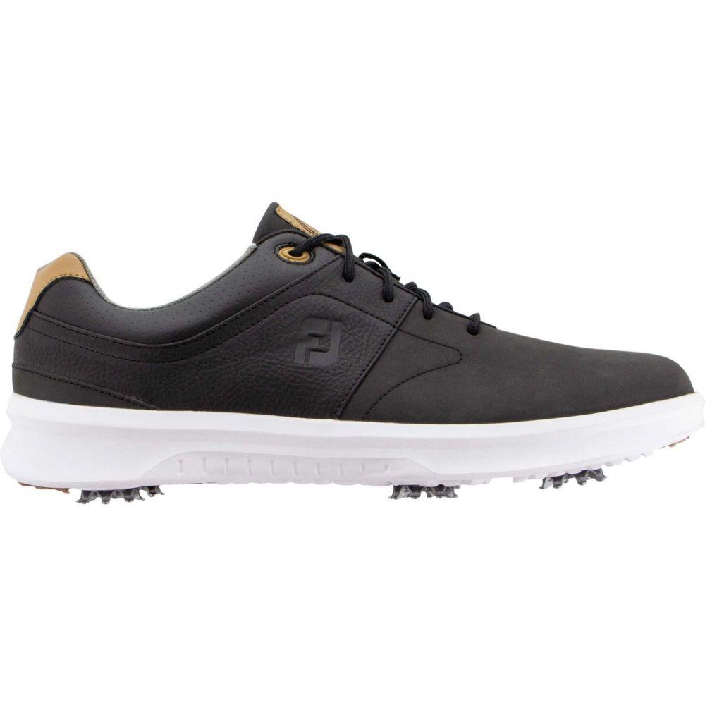 フットジョイ FootJoy メンズ ゴルフ シューズ・靴【Contour Golf Shoes】Black