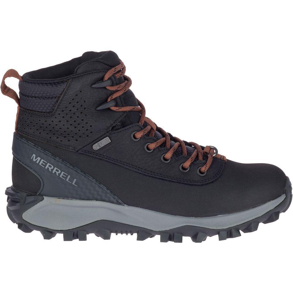メレル Merrell レディース ハイキング・登山 ブーツ シューズ・靴【Thermo Kiruna Mid Shell 200g Waterproof Hiking Boots】Black