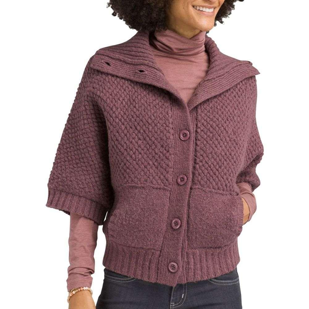 プラーナ prAna レディース ニット・セーター トップス【Milone Sweater】Dark Mauve