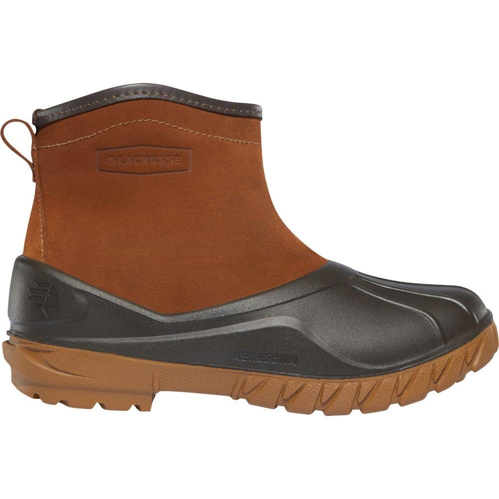 ラクロッセ LaCrosse レディース ブーツ シューズ・靴【Aero Timber Top Slip-On 5'' Hunting Boots】Clay Brown