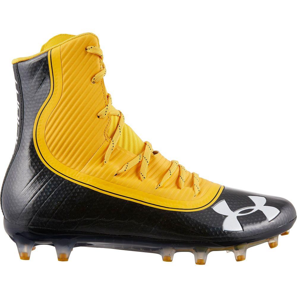 アンダーアーマー Under Armour メンズ アメリカンフットボール スパイク シューズ・靴【Highlight MC Football Cleats】Yellow/Black