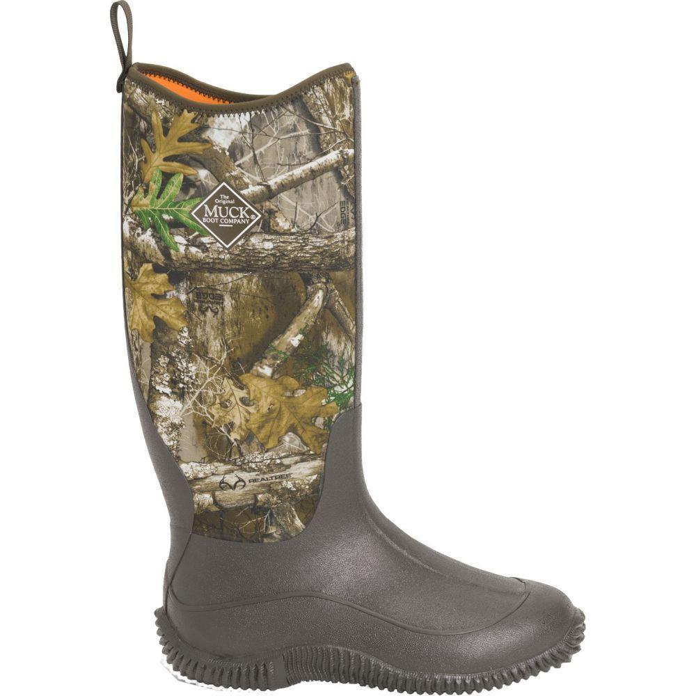マックブーツ Muck Boots レディース ブーツ シューズ・靴【Hale Realtree Edge Rubber Boots】Brown/Realtree