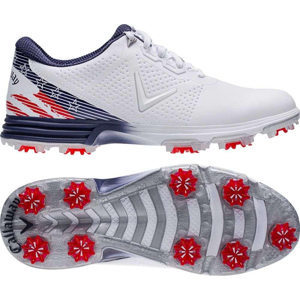 キャロウェイ Callaway メンズ ゴルフ シューズ・靴【Coronado Golf Shoes】Red/Blue