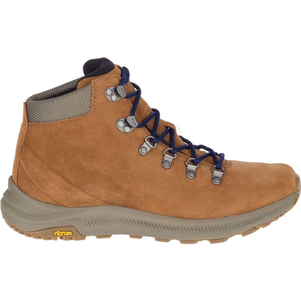 メレル Merrell メンズ ハイキング・登山 ブーツ シューズ・靴【Ontario Suede Mid Hiking Boots】Monks Robe