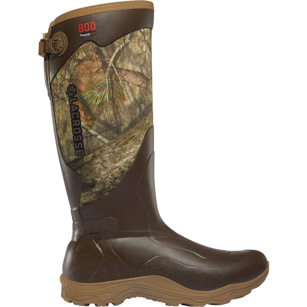 ラクロッセ LaCrosse メンズ 陸上 シューズ・靴【Alpha Agility 17'' Mossy Oak Break-Up Country 800g Rubber Hunting Boots】Mossy Oak Breakup Country