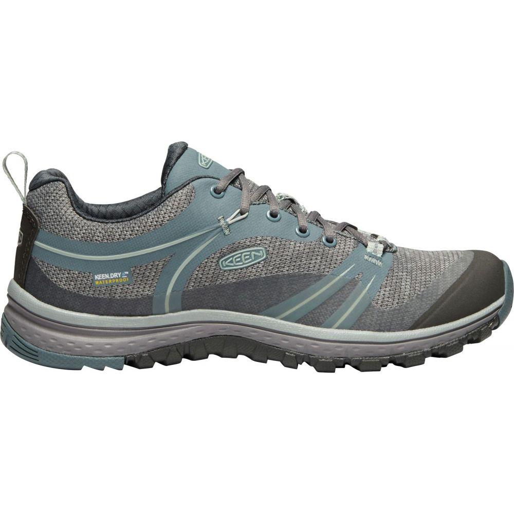 キーン Keen レディース ハイキング・登山 シューズ・靴【KEEN Terradora Waterproof Hiking Shoes】Stormy Weather/Wrght Iron