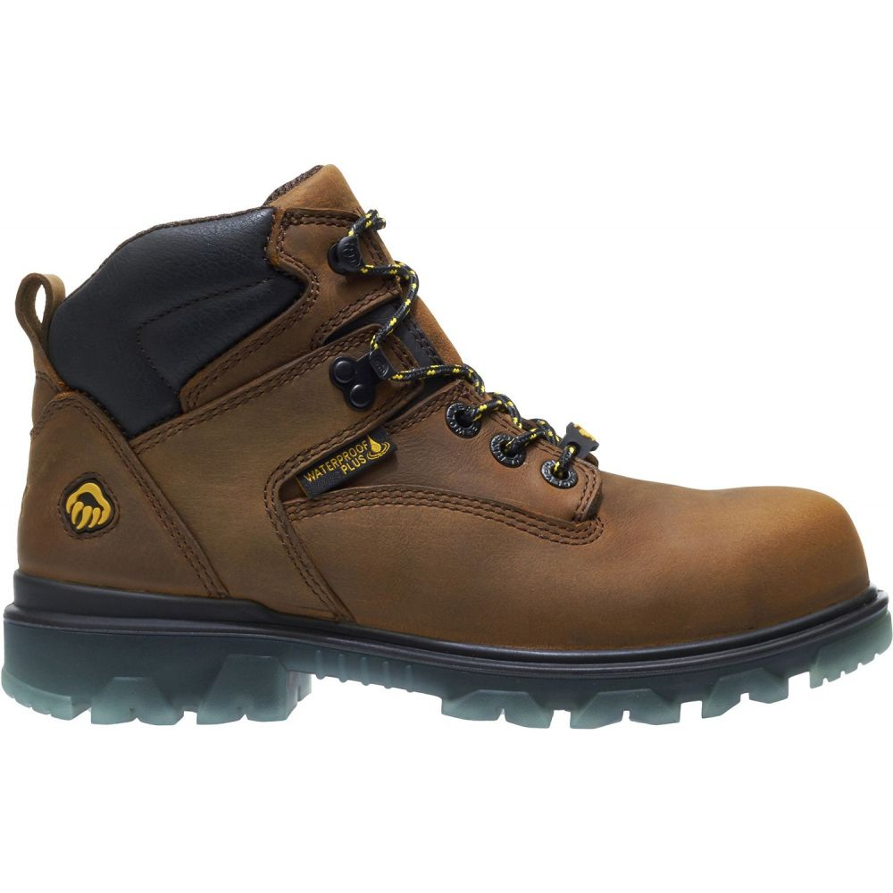 ウルヴァリン Wolverine レディース ブーツ ワークブーツ シューズ・靴【I-90 EPX Composite Toe Work Boots】Brown