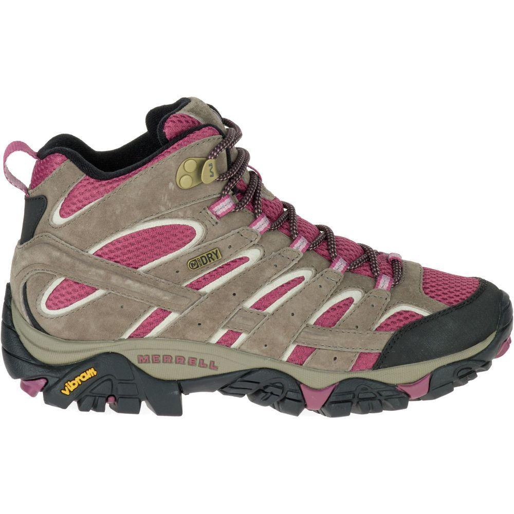 メレル Merrell レディース ハイキング・登山 シューズ・靴【Moab 2 GTX Waterproof Hiking Shoes】Boulder/Blush
