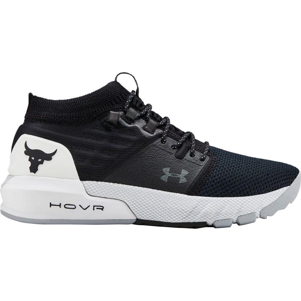 アンダーアーマー Under Armour レディース フィットネス・トレーニング シューズ・靴【Project Rock 2 Training Shoes】Black/White