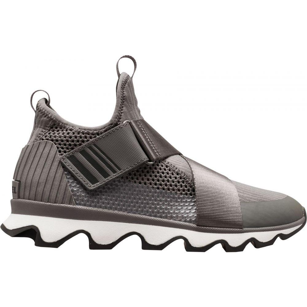 ソレル SOREL レディース シューズ・靴 【Kinetic Sneak Casual Shoes】Quarry